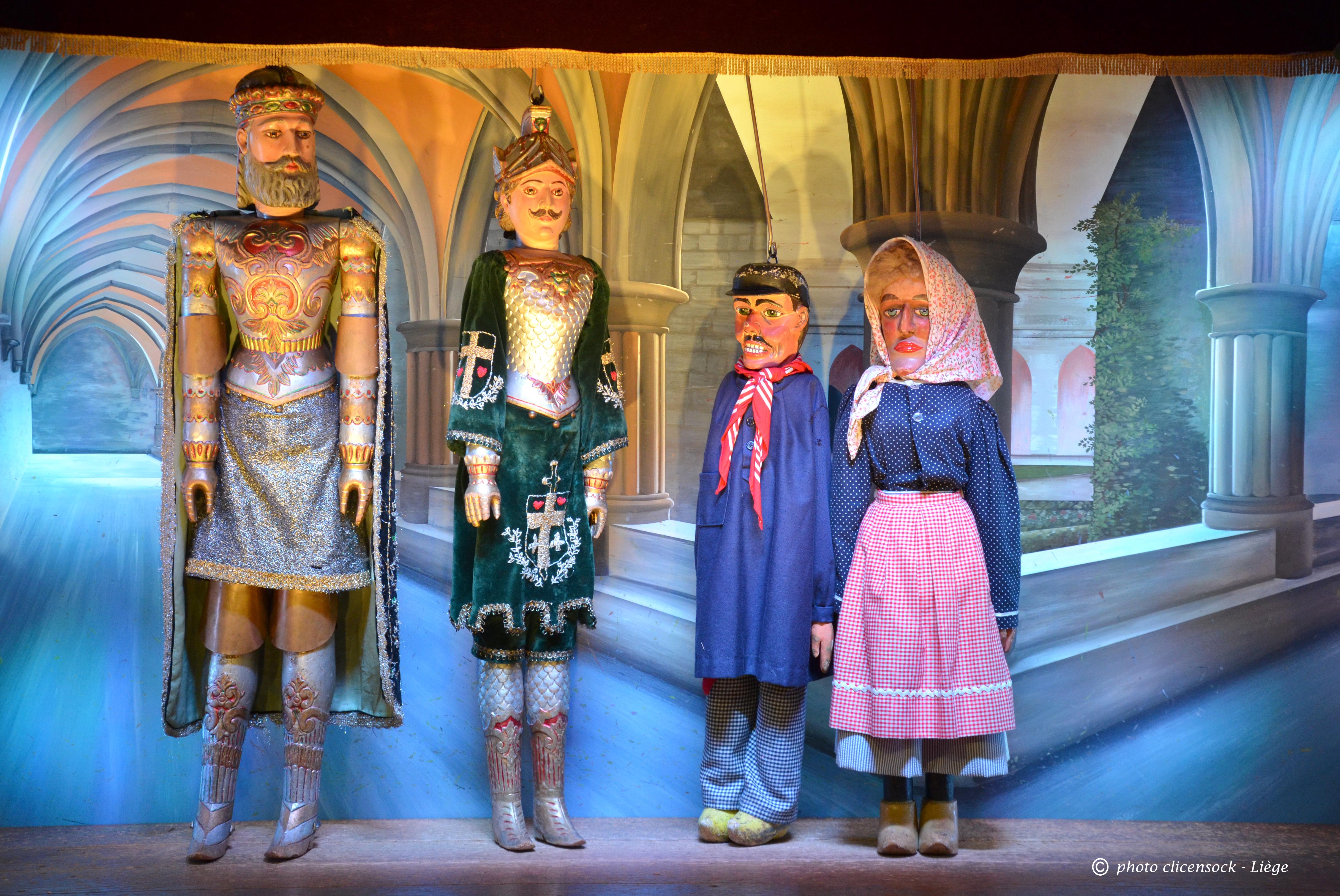 Tchantchès, Nanesse et Charlemagne