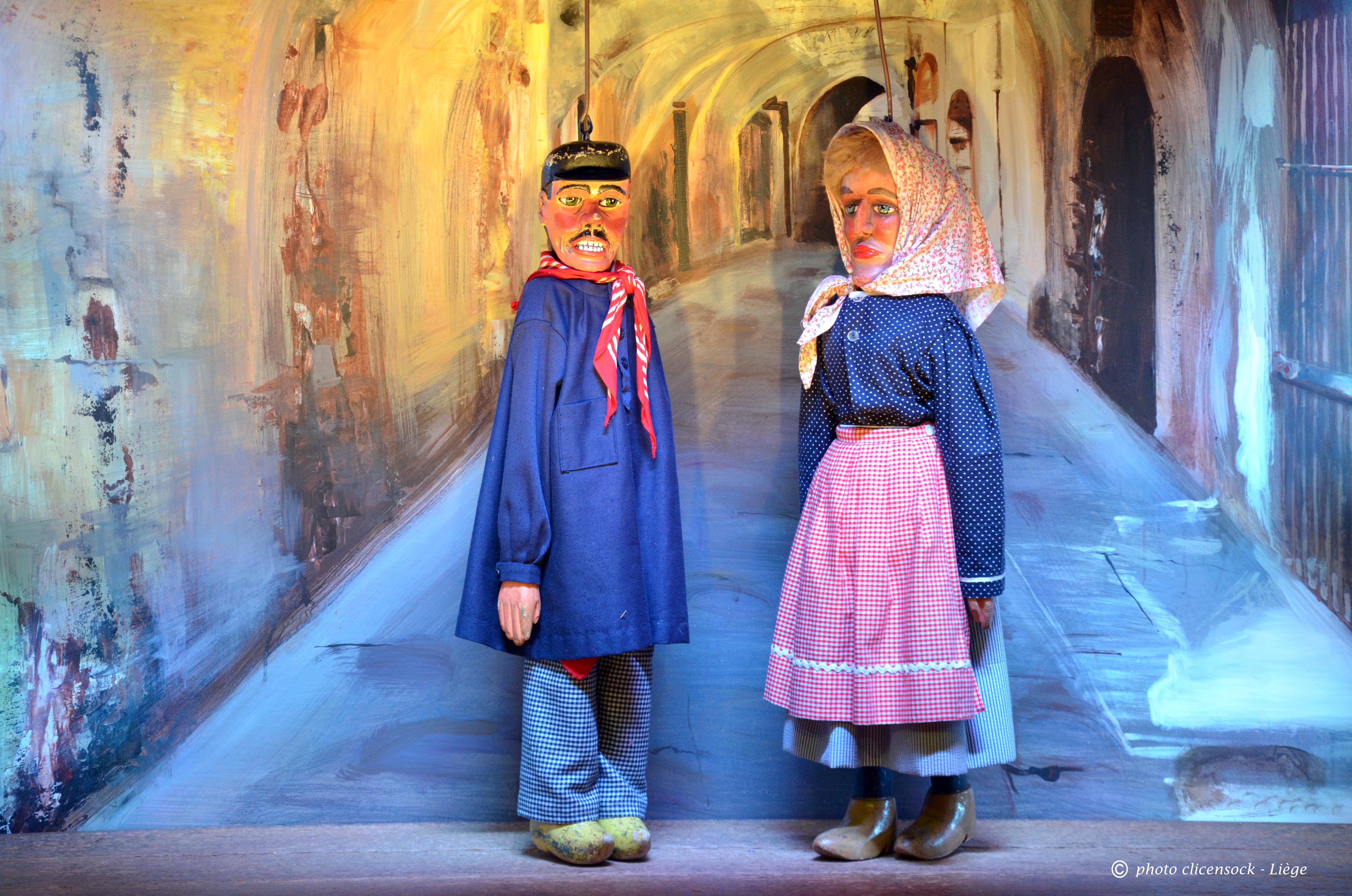 Tchantchès et Nanesse à Nazareth