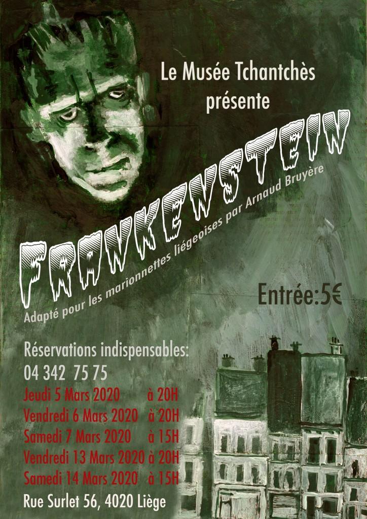 affiche frankenstein 2